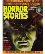 Horror Stories #7 Vampire's Curse Mummy's Eyes Howling Terror Monster Cr... - $17.56
