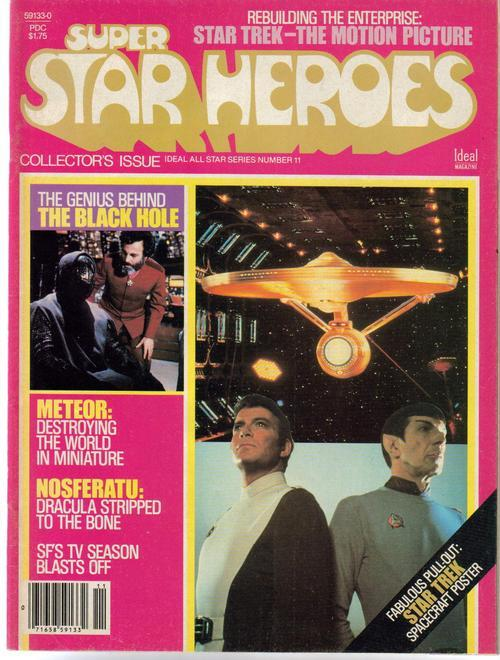 Super Star Heroes #11 Star Trek Meteor Nosferatu Black Hole SFi-Fi Adventure