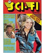 TV Sci-Fi Monthly #7 Bionic Woman Spock Interview Steve Austin Dr Who UFO - $18.36