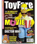 Toyfare #121 The Simpsons Doctor Who Twisted Toyfare - $7.95