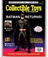 Collectible Toys & Values #9 Batman Returns G.I. Joe Lunch Box Values - $7.95