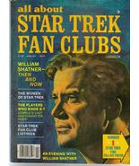 All About Star Trek Fan Clubs #3 William Shatner Women Of Star Trek - $10.36