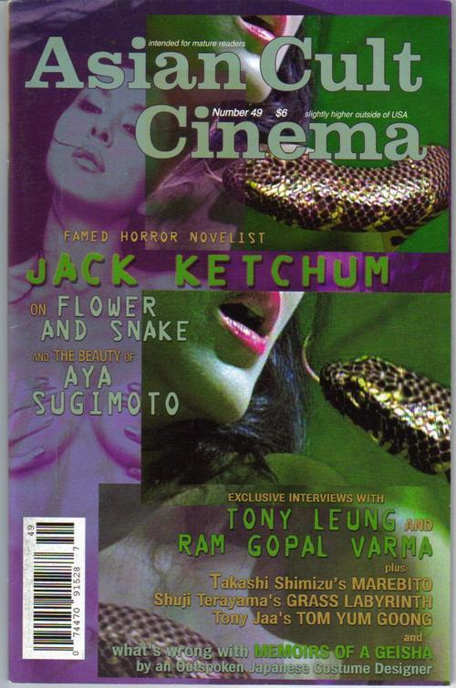 Asian cult cinema  49