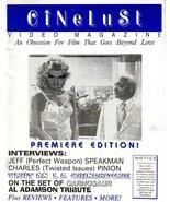 CineLust #1 Premiere Issue Jeff Speakman Charles Pinion Carnosaur Al Ada... - $8.46