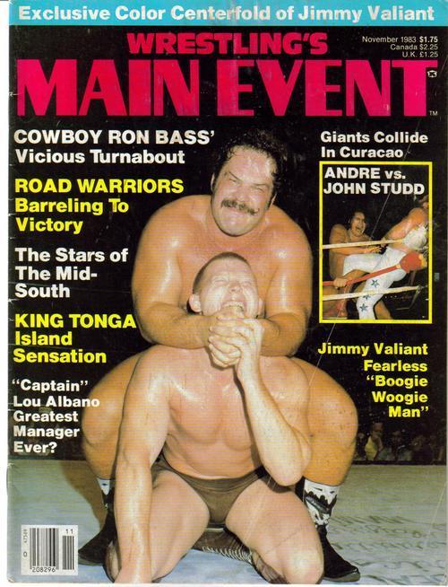 Wrestling main event nov 83