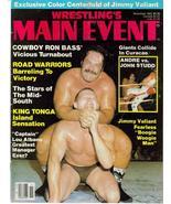 WWE Wrestling's Main Event Nov 83 Andre The Giant - $5.56