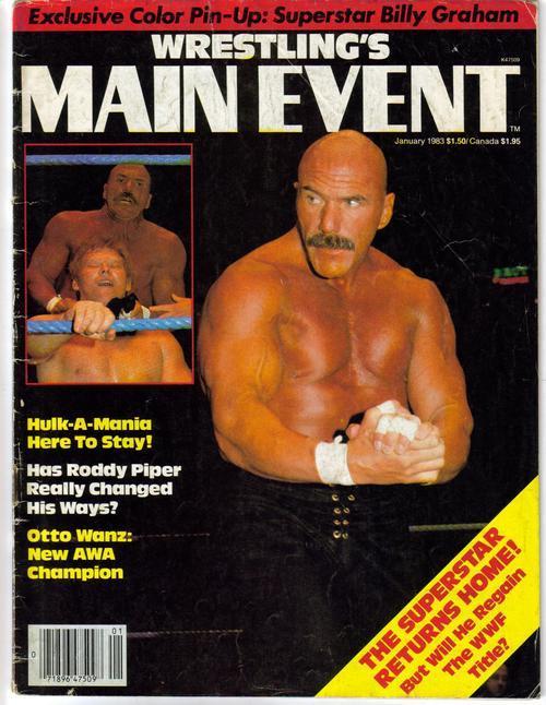 Wrestling main event jan 83