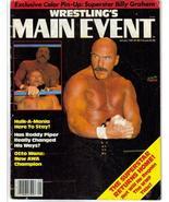 WWE Wrestling's Main Event Jan 83 Billy Graham R Piper - $5.56