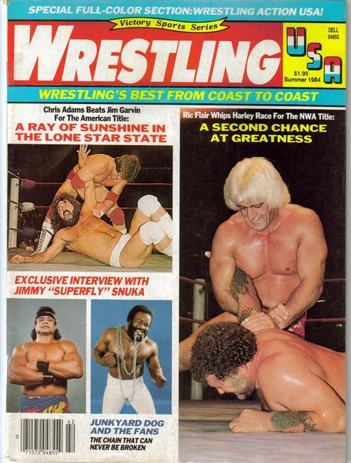 Primary image for WWE Wrestling USA Summer 84 Ric Flair Superfly Snuka Action Adventure