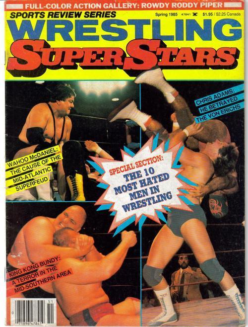 Wrestling superstars 1985