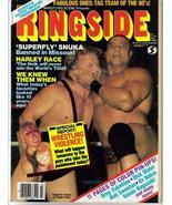 WWE Ringside Mar 84 Snuka Race Hogan Valentine Action Adventure  - $6.36