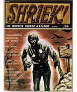Shriek #4 Frankenstein The Mask Brides Of  Fu Manchu Daleks Munster Go Home - $16.96