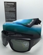New ETHER Collection VONZIPPER Sunglasses SUPLEX Shiny Black Frame w/Gre... - $109.95