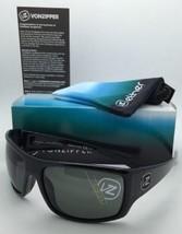 New ETHER Collection VONZIPPER Sunglasses SUPLEX Shiny Black Frame w/Grey Lenses image 1