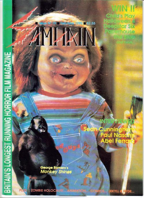Samhain Magazine #19 UK Horror Paul Nascny Childs Play Deepstar Six Halloween