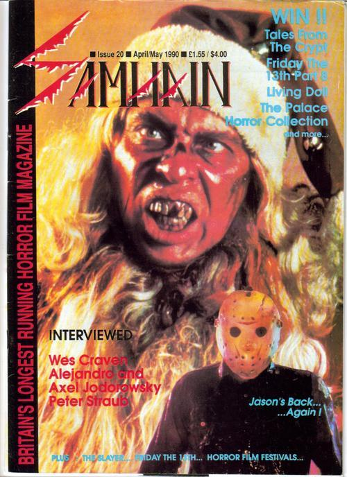 Samhain Magazine #20 UK Horror Wes Craven Jodorowsky Tales From The Crypt