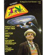 TV Zone #1 Premiere Issue!! Doctor Who Star Trek U.K. Import Fantasy Fla... - $31.96