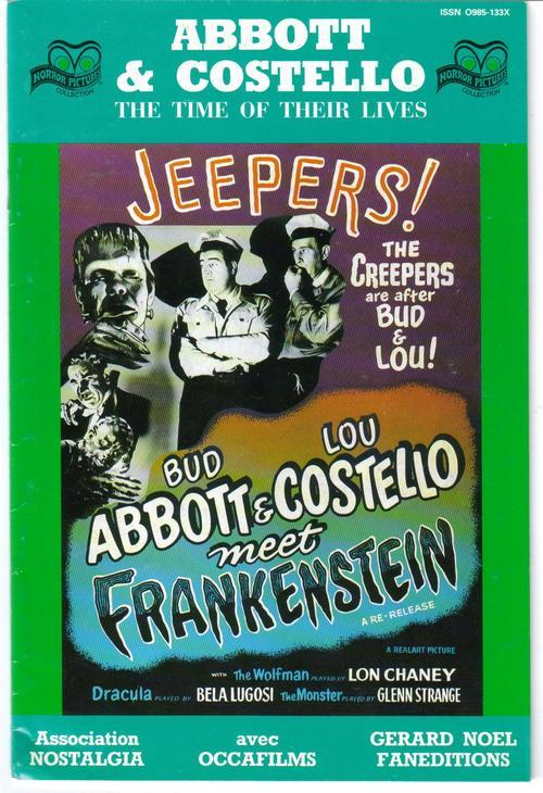 Horror Pictures Collection #13 Abbott & Costello