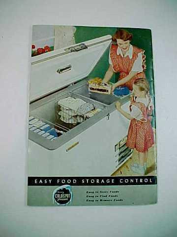 1949 Sears Roebuck Co. Coldspot Freezers Instruction Manual
