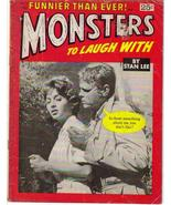 Monsters To Laugh With #2 Stan Lee Horror Comedy Horror Terror - $8.46
