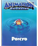 SDCC 09 Animation Magazine Comic-Con Edition Ponyo - $9.95