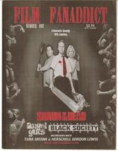 Film FanAddict #1 Premiere Issue Shaun Of The Dead Tura Satana Black Soc... - $16.96