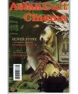 Asian Cult Cinema #35 Oliver Stone Horror Issue H Yau Action Adventure - $7.96