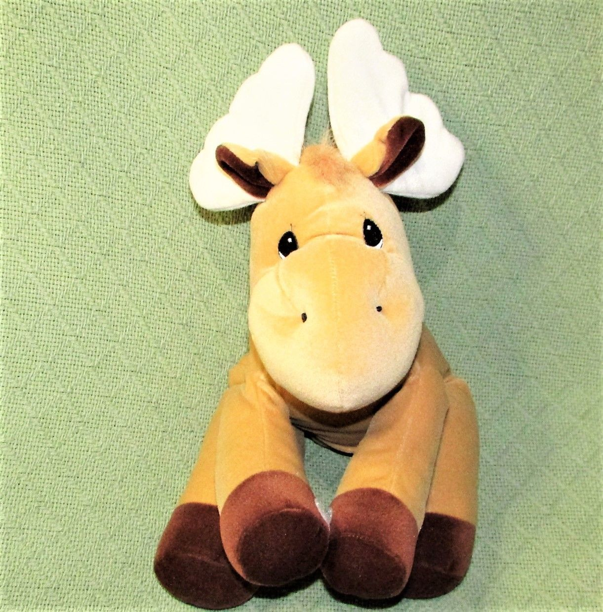 """Enesco TENDER TAILS MOOSE 12"""" Plush PRECIOUS MOMENTS Stuffed Animal Sticky Hands image 2"""