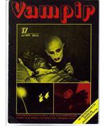 Vampir #17 Rare! HTF Black cover! Nosferatu 2001 German Text Horror  - $33.96