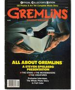 Gremlins Souvenir Magazine Official Collector's Ed - $6.76