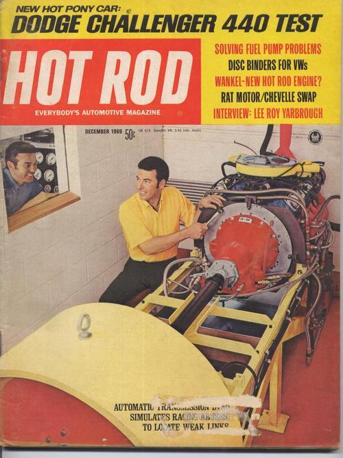 Hot rod dec 69