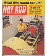 Hot Rod Magazine Dec 1969 Dodge Challenger Lee Roy Miss - $6.95