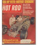 Hot Rod Magazine May 1967 435 HP Vette Will Granatelli GTO Bobcat Kit - $5.95