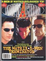 Triple Action Magazine 100 Page Collector's Edition Matrix X-Men Terminator - $7.96