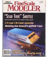 FineScale Modeler Nov 1995 Star Trek Shuttle T-38 Train - $7.95