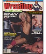 Sports Review Wrestling 1981 Annual Ken Patera Von Eric - $7.96