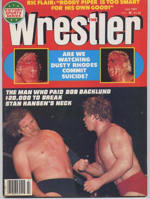 The wrestler roddy piper