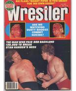 The Wrestler July 1981 Ric Flair Roddy Piper Dusty Rhodes Bob Backlund S... - $7.96