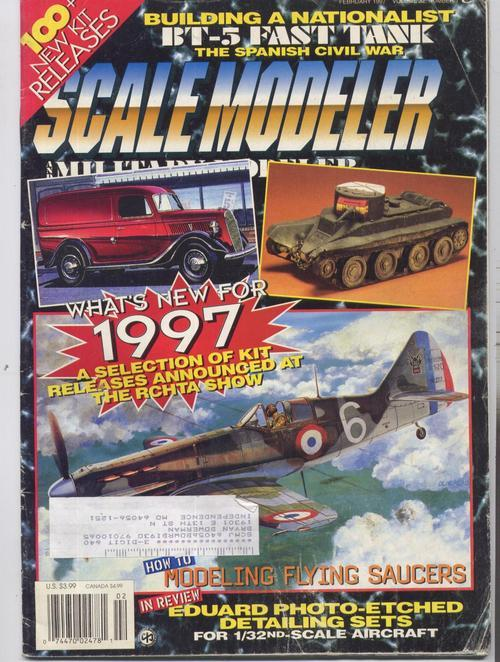 Scale modeler feb 97