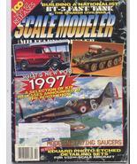 Scale Modeler Feb 1997 Flying Saucers BT-5 Fast Tank Blue Devil - $4.95