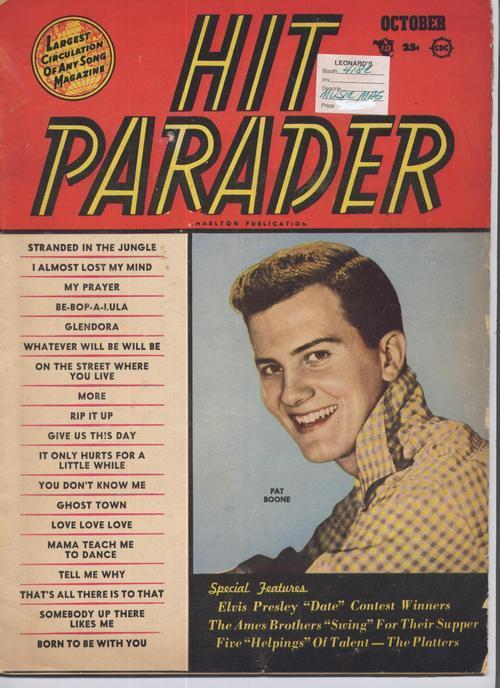 Hit parader oct 1956