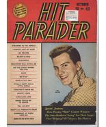 1956 Hit Parader Magazine Pat Boone Elvis Ames Bros Platters Nat King Cole - $11.96