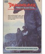 Dragonslayer Things To Do And Color Book Kids  Action Adventure  - $5.06