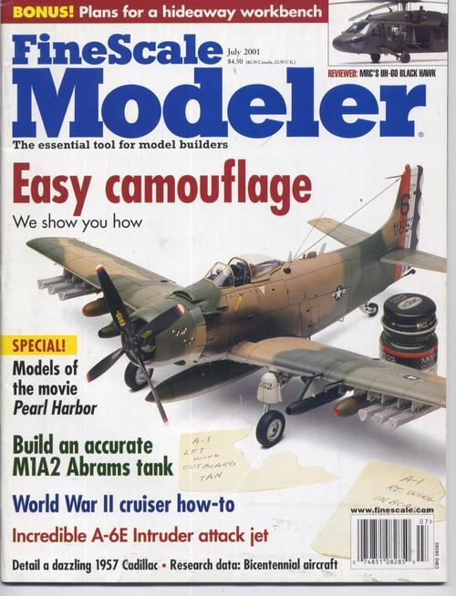 Finescale modeler july 2001