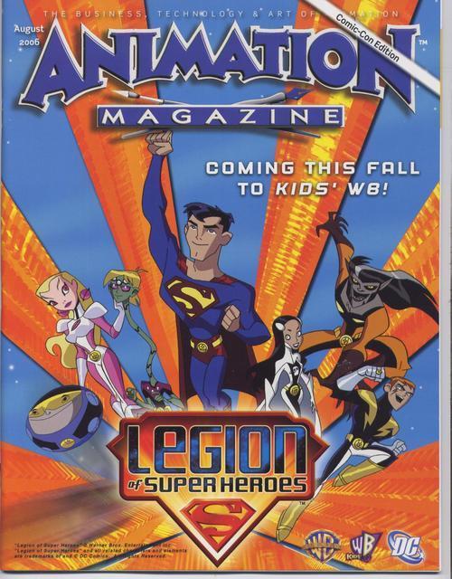 Animation magazine comic con promo