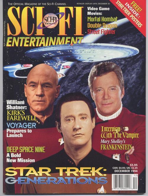Sci fi entertainment