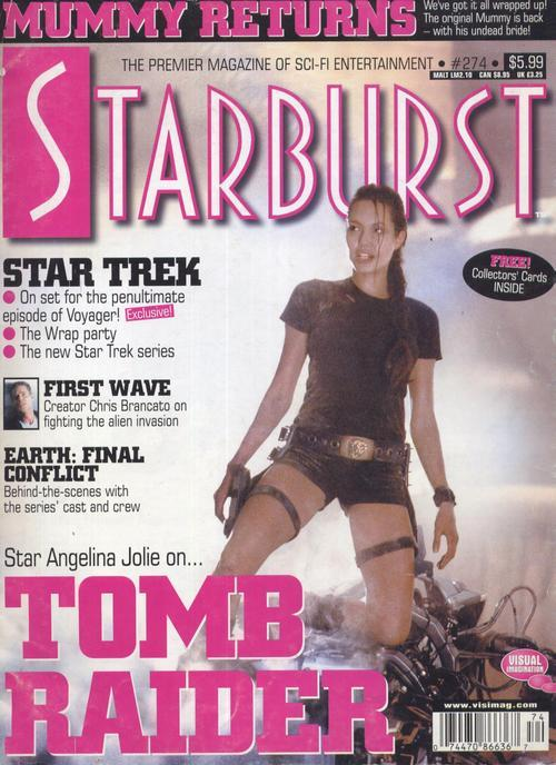 Starburst #274 Tomb Raider Star Trek First Wave Earth Final Conflict Action