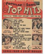 1944 Popular Song Top Hits Eddie Quillan Mary Beth Hugh Machine Gun Mama - $9.71