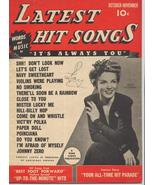 1943 Latest Hit Songs V1 #5 Helen O Connell Johnny Zero Navy Sweetheart ... - $7.95