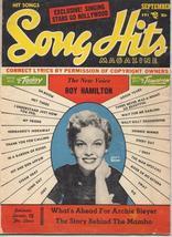 1954 Song Hits Magazine V18 #2 Roy Hamilton Jaye P Morgan Archie Bleyer - $3.95